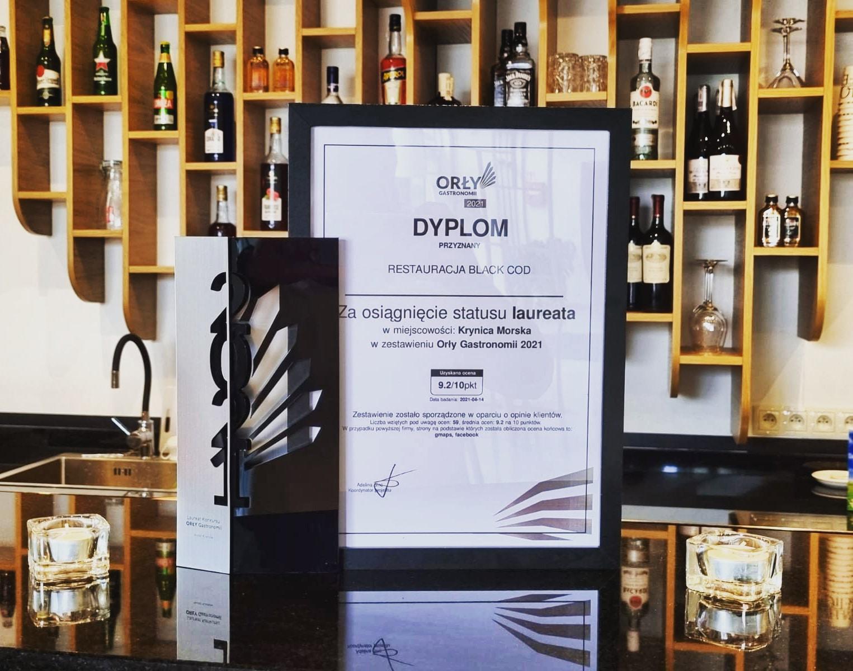 You are currently viewing Złote orły gastronomii Krynica Morska – Black Cod Restaurant
